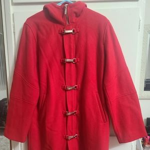 Vintage women POLO RALPH LAUREN Wool Hooded coat